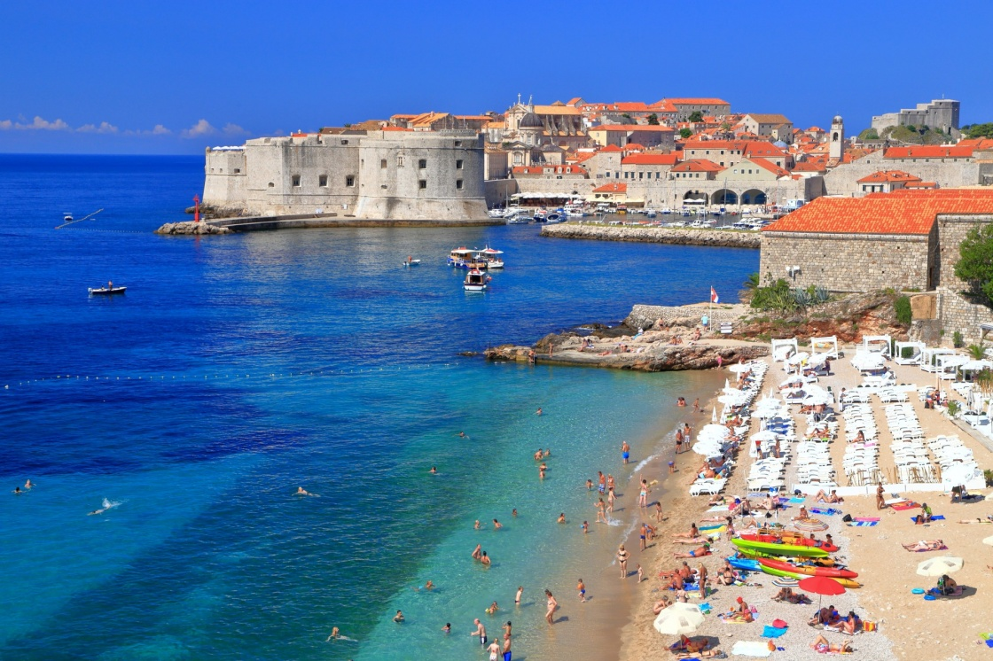 Image result for dubrovnik beaches