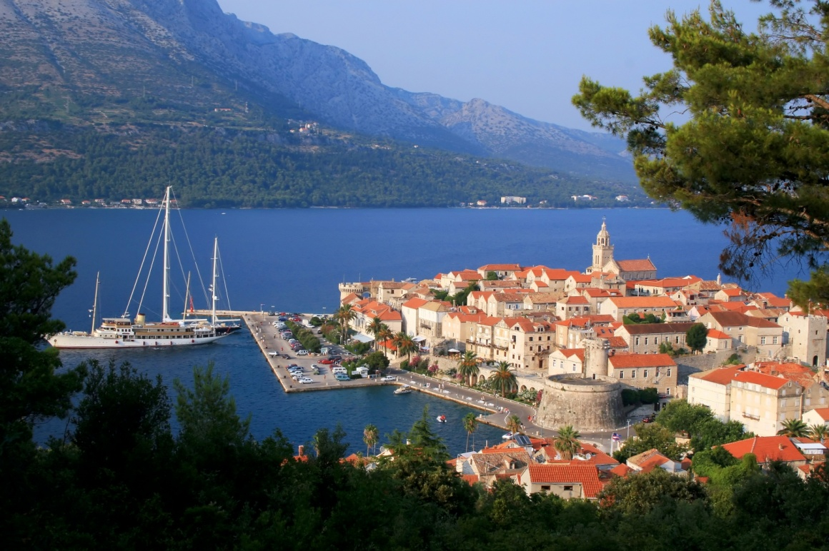 'Korcula island and the city, Croatia' - Dubrovnik